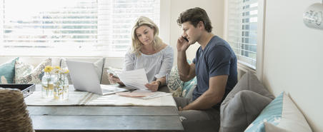 Miniguity not to over-borrow because of a 100% mortgage